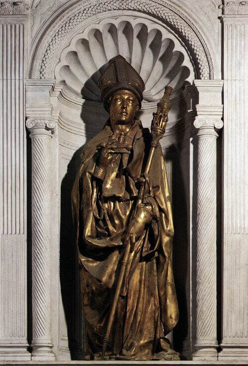 St Louis of Toulouse by Donatello